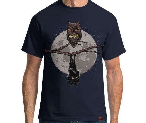 Camiseta Bat Owl