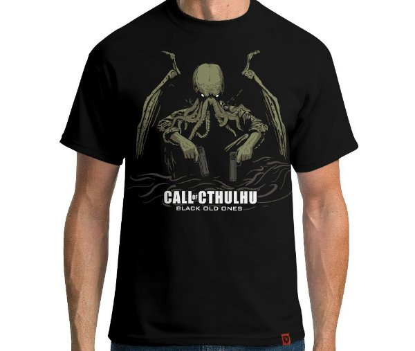 Camiseta Call of Cthulhu
