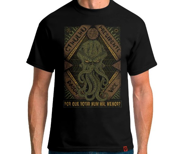 Camiseta Cthulhu Presidente