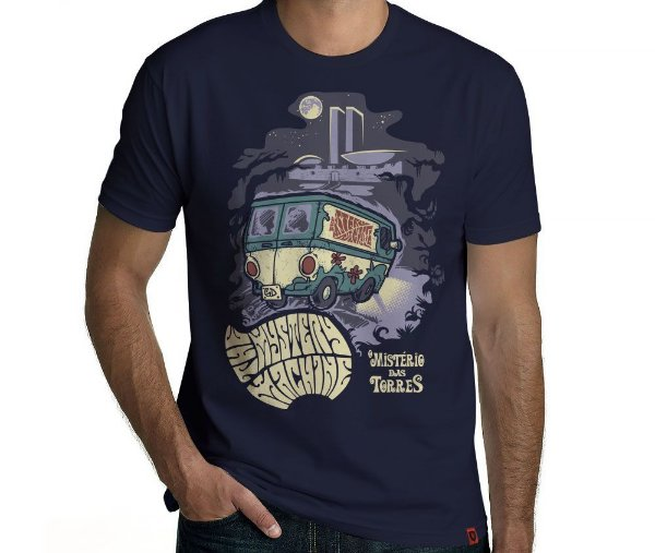 Camiseta Mistério S.A