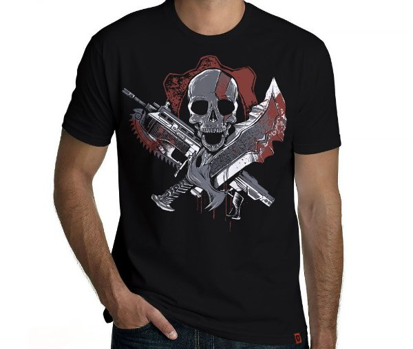 Camiseta Gears of God