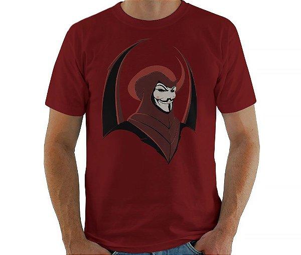 Camiseta V de Vingador