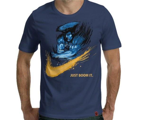 Camiseta Sonic Boom