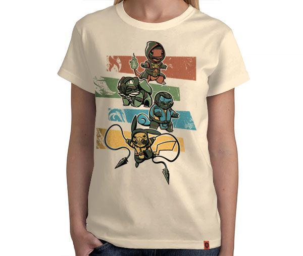 Camiseta Kombat Pokémon