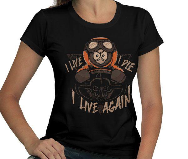 Camiseta I Live Again