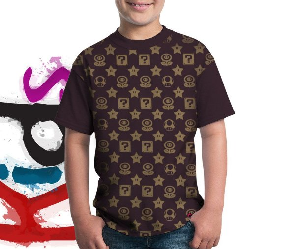 Camiseta Mario Vuitton