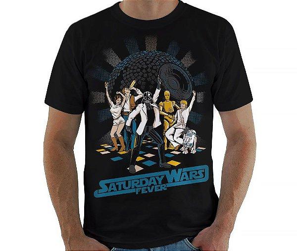 Camiseta Saturday Wars