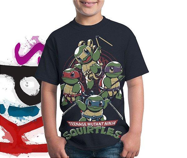 Camiseta Ninja Squirtles