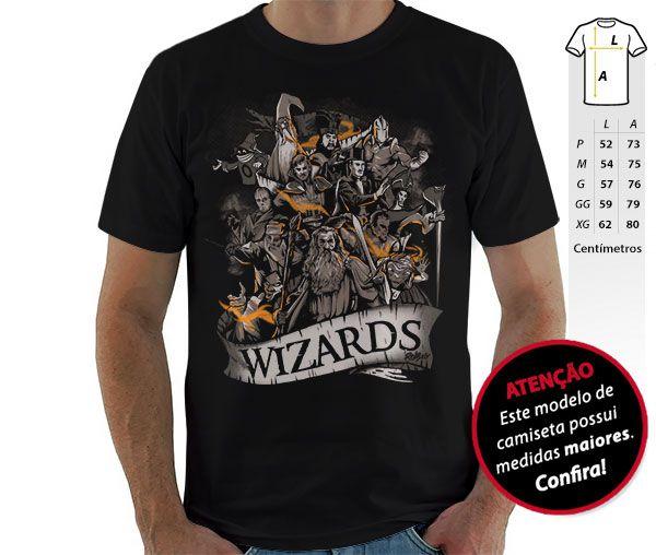 Camiseta Wizards