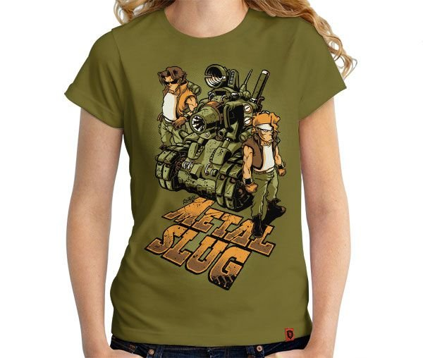 Camiseta Metal Slug