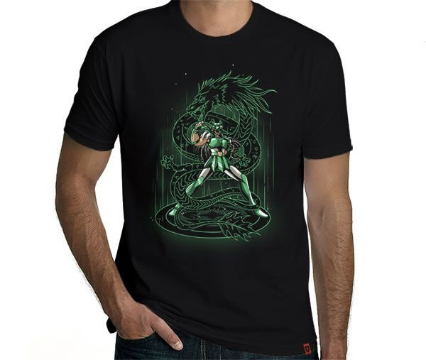 Camiseta Shiryu de Dragão