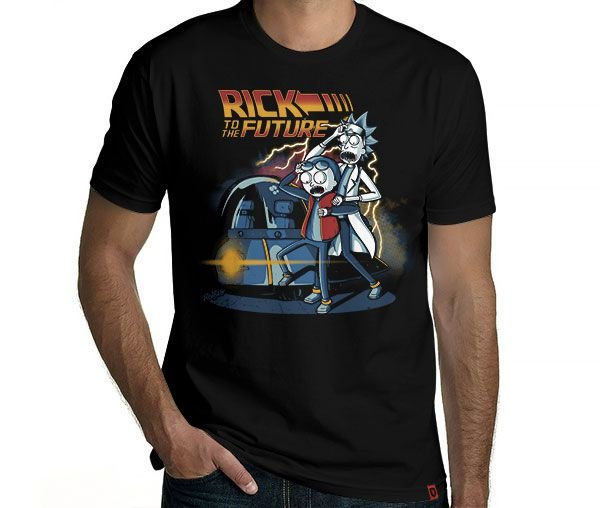 Camiseta Rick To The Future