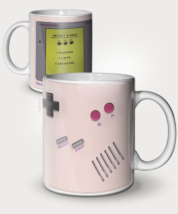 Caneca GameBoy