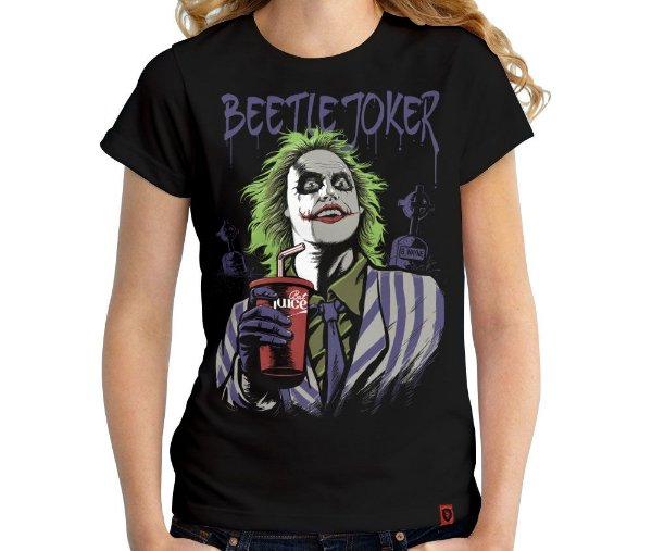 Camiseta Beetle Joker