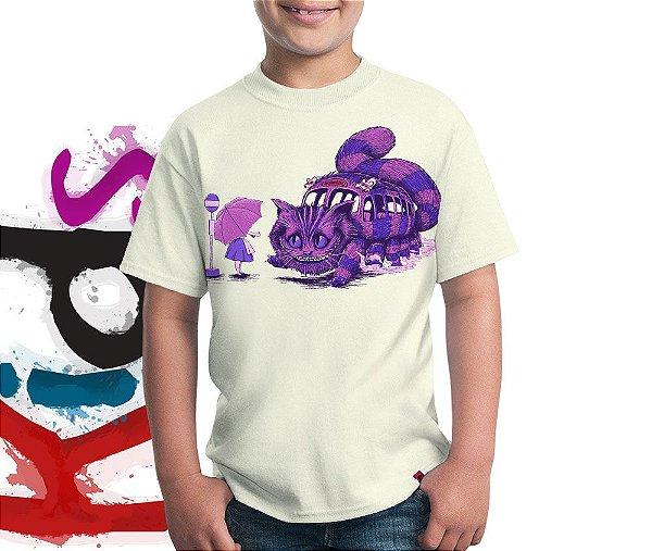 Camiseta Cat Bus