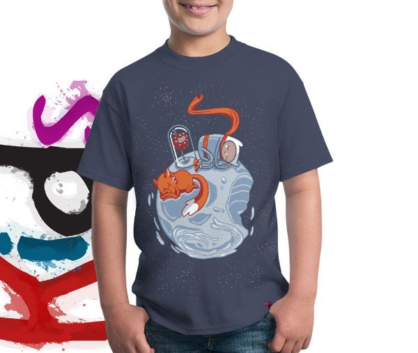 Camiseta Little Finn