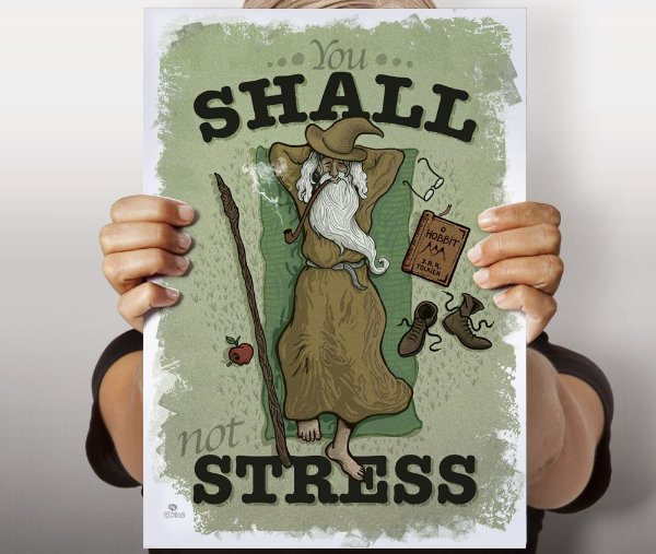 Poster You Shall Not Stress