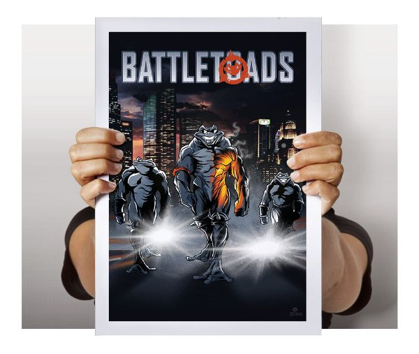 Poster Battletoads