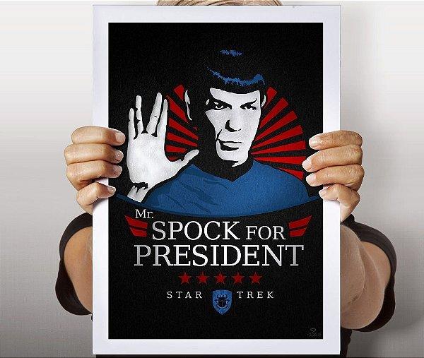 Poster Spock