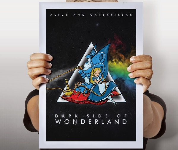Poster Dark Side of Wonderland