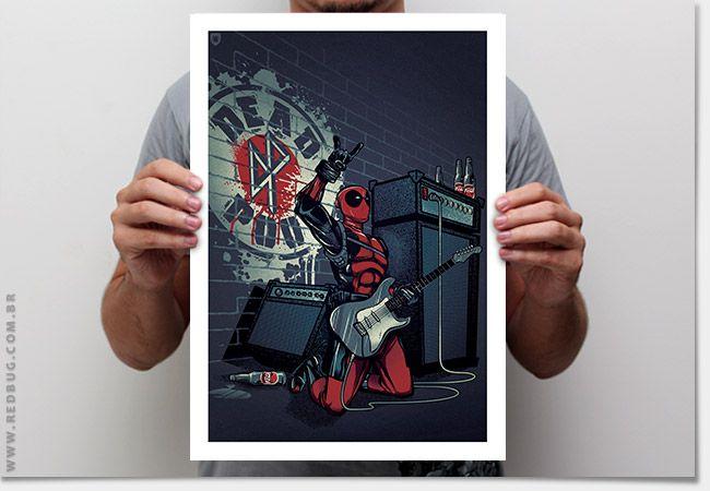 Poster Dead Punk