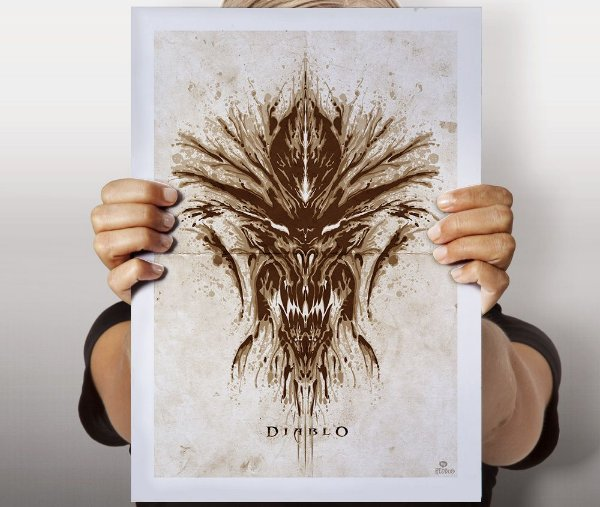 Poster Diablo Rorscharch