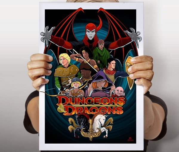 Poster Dungeons N Dragons