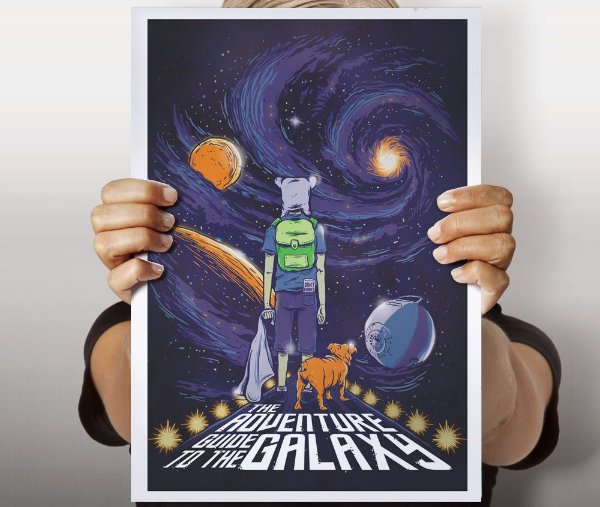 Poster Guia da Aventura