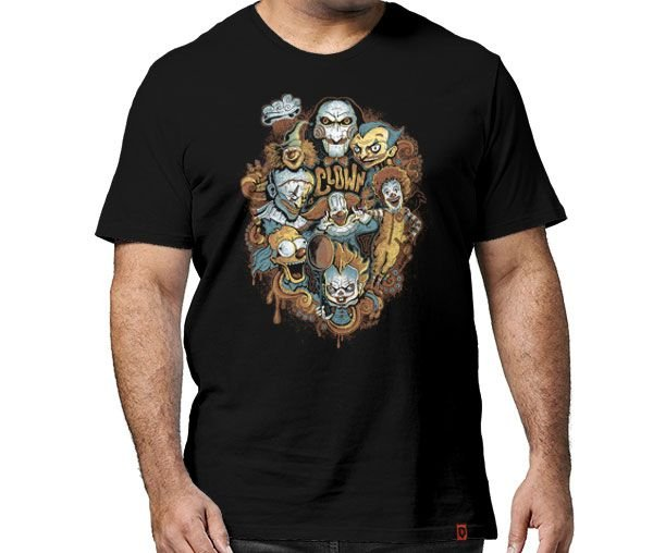 Camiseta Clowns