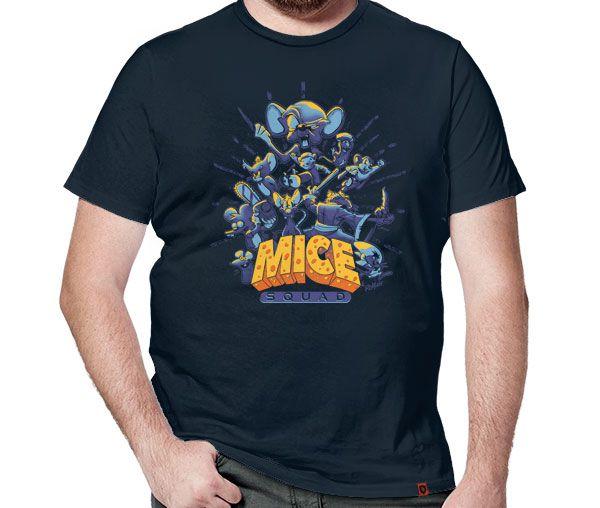 Camiseta Mice Squad