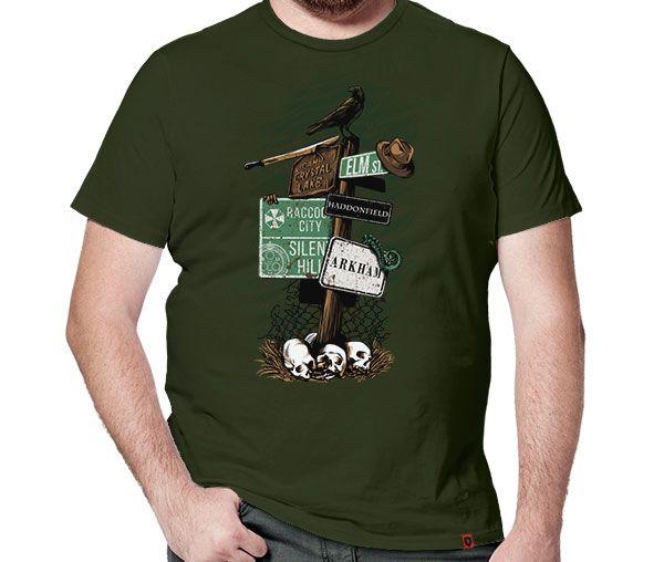 Camiseta Destino Macabro