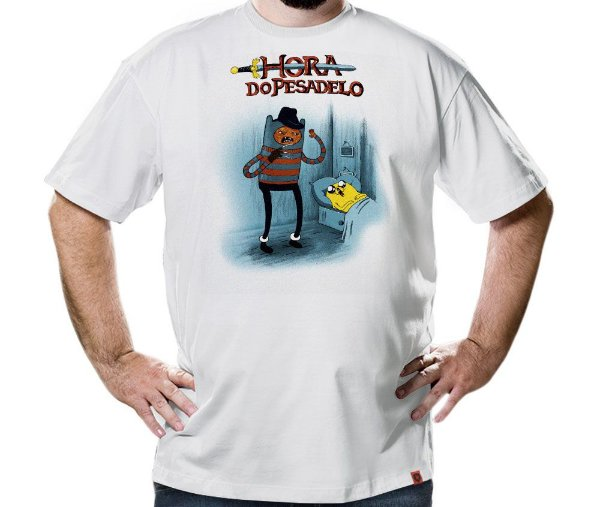Camiseta Hora do Pesadelo