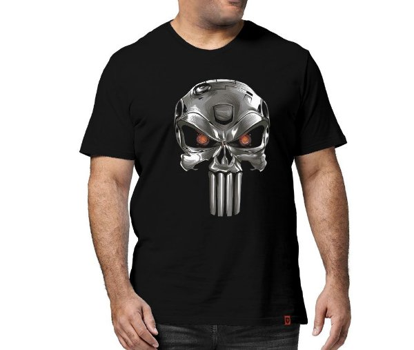 Camiseta Justiceiro do Futuro