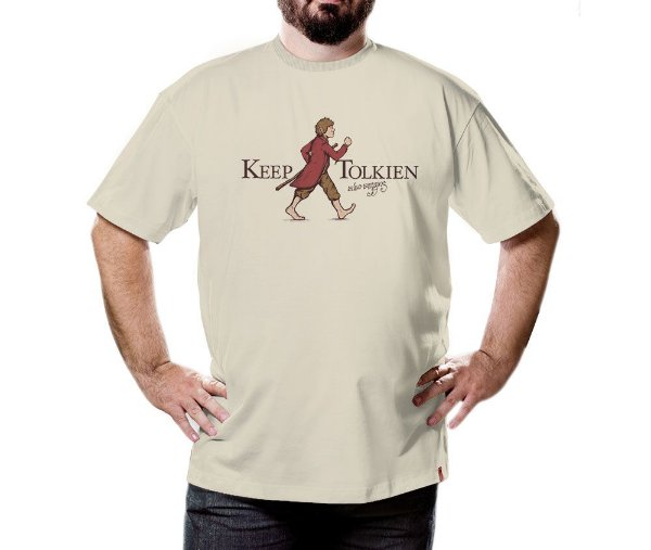 Camiseta Keep Tolkien