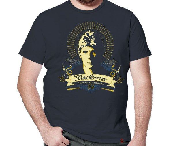 Camiseta São MacGyver