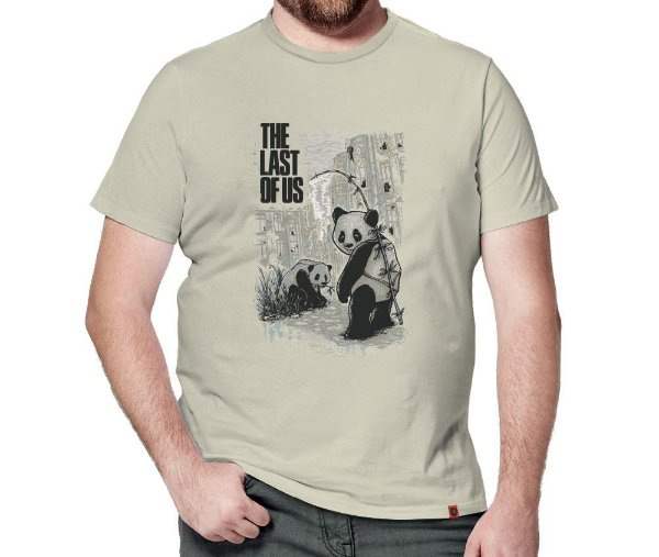 Camiseta Pandas