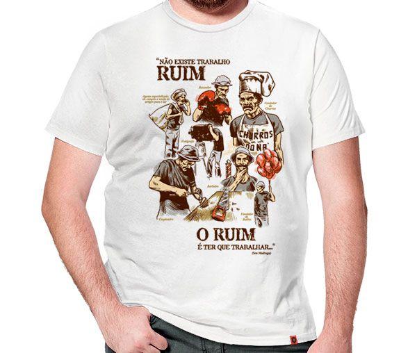 Camiseta Trabalhador