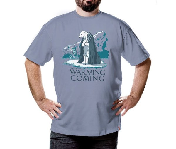 Camiseta Warming is Coming