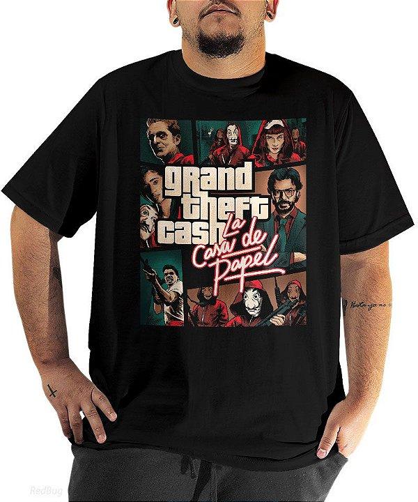 Camiseta Grand Theft Cash