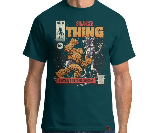 Camiseta Stranger Thing