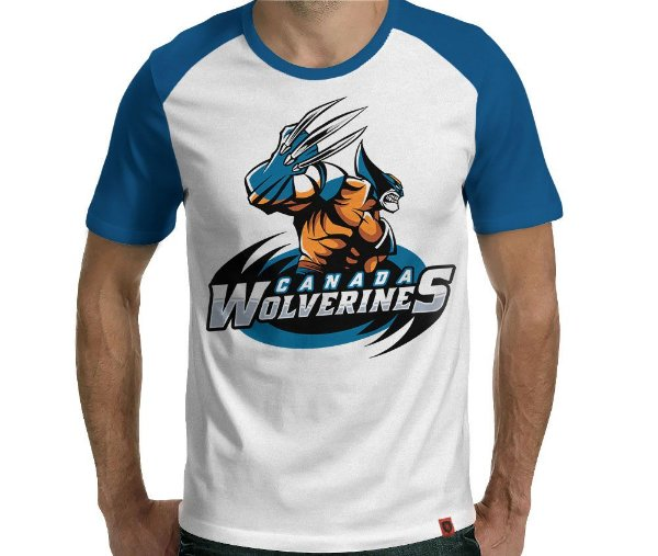 Camiseta Team Wolverines