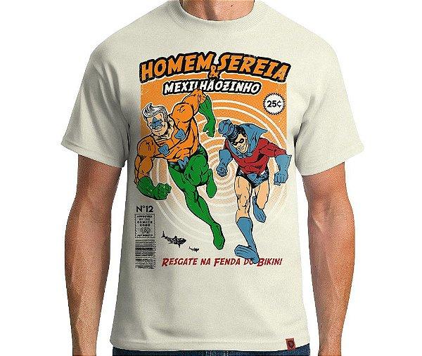 Camiseta Homem Sereia