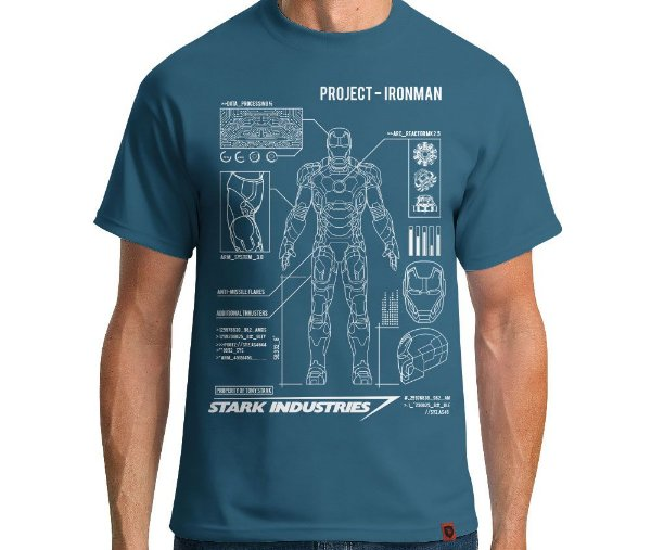 Camiseta Iron Man Project