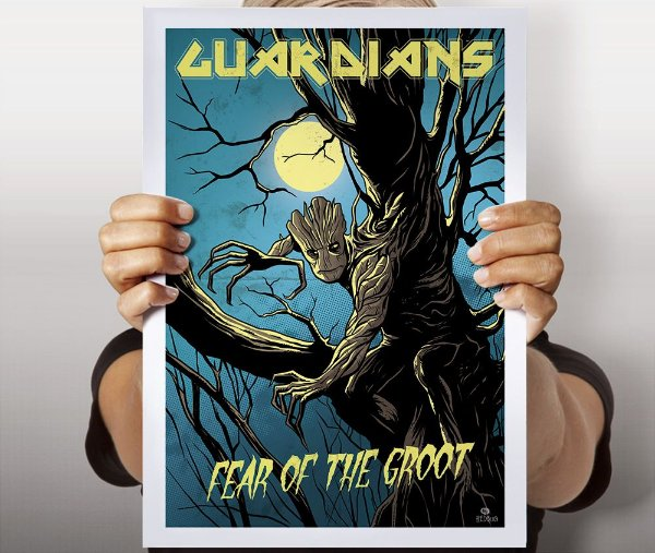 Poster Fear Of The Groot