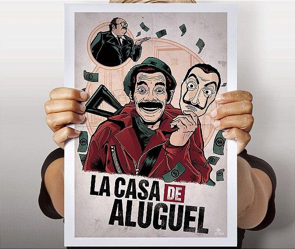 Poster La Casa de Aluguel