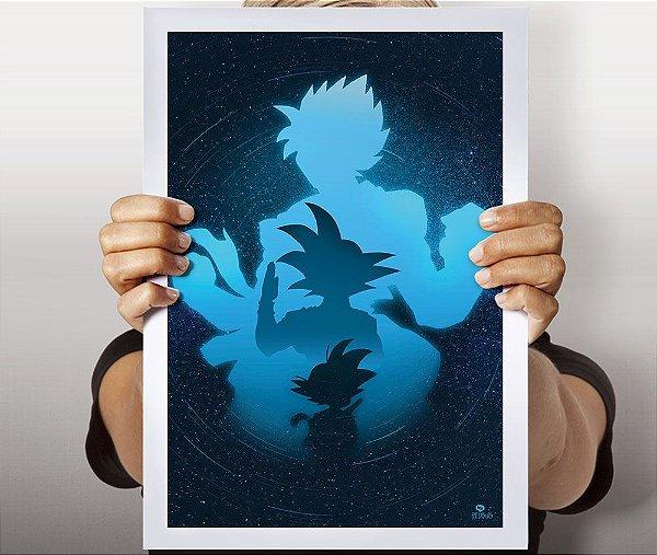 Poster Goku Evolution