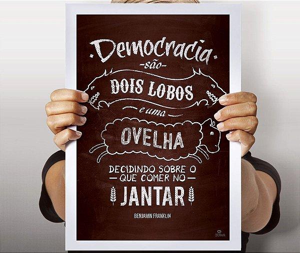Poster Democracia