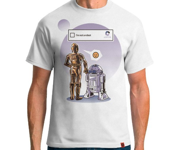 Camiseta Sad Robots