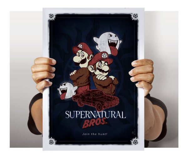 Poster Supernatural Bros