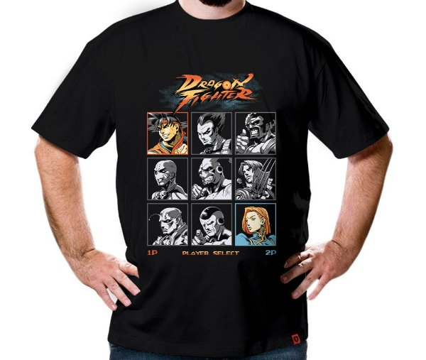 Camiseta Dragon Fighter
